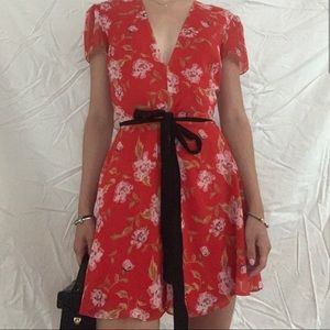 Floral Lovers + Friends Mini Dress